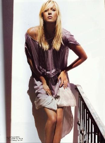图文-莎娃公布最新时尚写真眼神迷离身姿妩媚