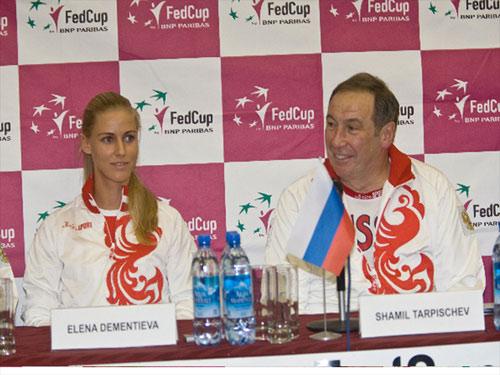 图文-联合会杯中俄战周末打响德娃是队长最爱弟子
