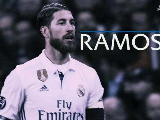 欧足联颁奖典礼 拉莫斯当选最佳后卫