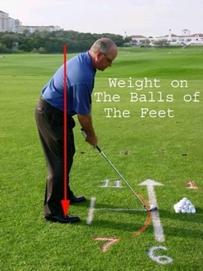 球技-详解挥杆正确姿势(2)确定球位与身体重心