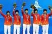 亚运-女乒团体夺冠