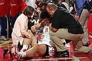 2006年12月右膝盖胫骨骨裂