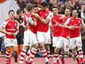 第31轮 阿森纳4-1利物浦 曼联3-1五连胜