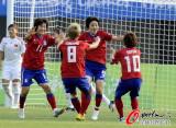 韩国队破门之后