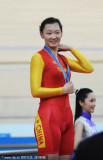 中国姜帆戴上金牌