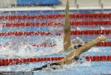 女子仰泳争先恐后