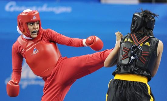 亚运散手女子60公斤决赛