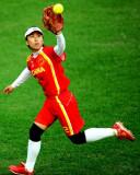 中国队王圆接球