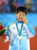 蒙古选手喜极而泣