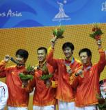 冠军中国队选手