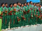 孟加拉国夺得冠军