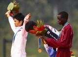 韩国选手鞠躬