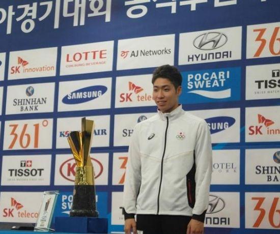 日本游泳新星萩野公介获亚运MVP 4金1银2铜写传奇