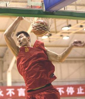易建联随中国男篮合练