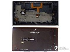 L形主板布局紧凑诺基亚Lumia900被拆解